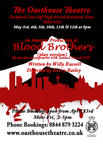 May 2018 - Blood Brothers