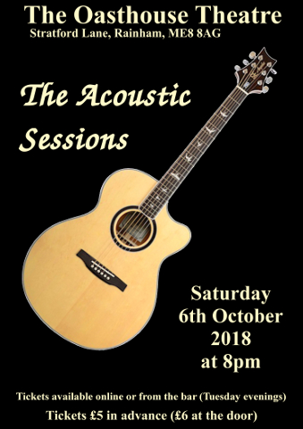 Oct 2018 - The Acoustic Sessions